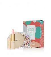 SPHERE BEAUTY PACK: Glow Spheres & Treatment Lipstick (Keenwell) – набор из двух средств (пудра «Сияющие сферы» + помада для губ «Тройной уход»)