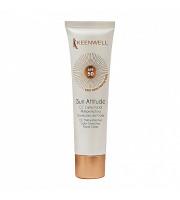 Sun Attitude – CC Crema Facial Multiprotectora Correctora del Color SPF 50 (Keenwell) – СС Мультизащитный корректирующий крем с тональным эффектом СЗФ 50