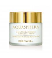 Aquasphera Intense Moisturizing Triple Action Cream – Night – Ночной интенсивно увлажняющий крем тройного действия