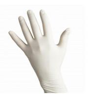 Одноразовые перчатки латексные нестерильные